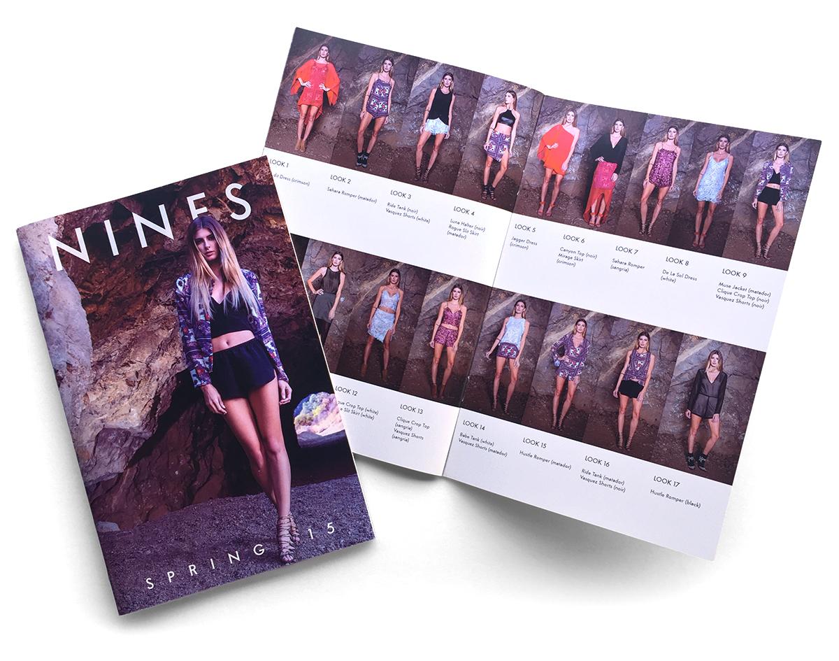 Nines Brand 2015 Spring Look Book